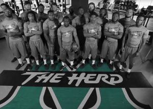 Barnes Agency Work Example - Marshall University 2014 Football Intro Video Featured Image