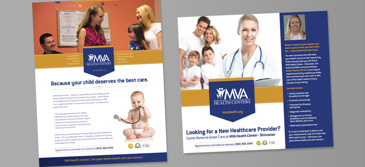 Barnes Agency Work Example - MVA Health Centers Print 2