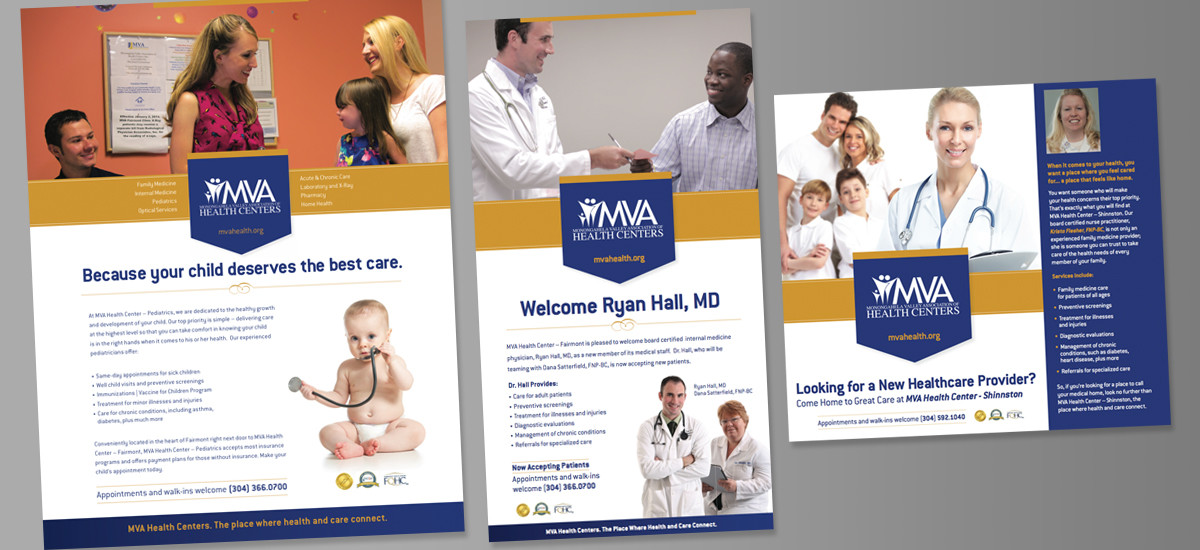 Barnes Agency Work Example - MVA Health Centers Print