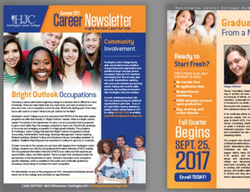Huntington Junior College Print: Newsletter