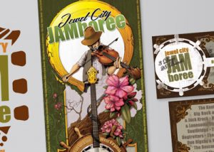 Barnes Agency Work - Jewel City Jamboree Print Featured