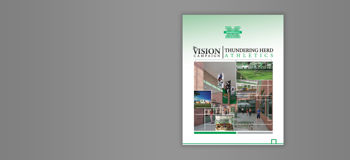 Barnes Agency Work - Marshall University Vision Campaign Cover