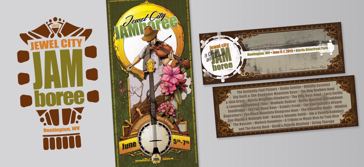 Barnes Agency Work - Jewel City Jamboree Print Items