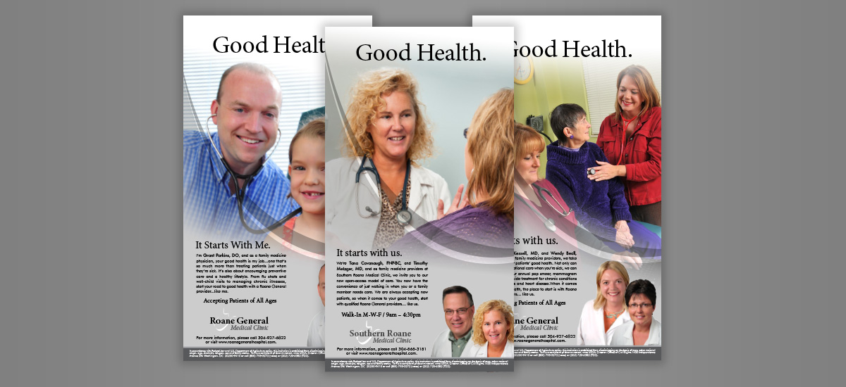 Barnes Agency Work - Roane General Hospital Print
