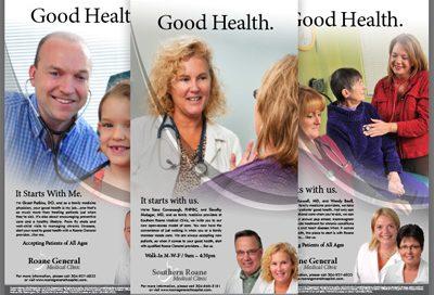 Barnes Agency Work - Roane General Hospital Print
